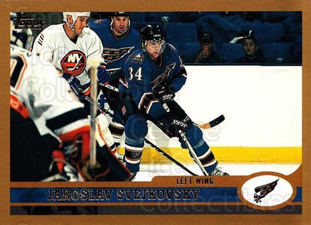 1999-00 Topps #161 Jaroslav Svejkovsky<br/>3 In Stock - $1.00 each - <a href=https://centericecollectibles.foxycart.com/cart?name=1999-00%20Topps%20%23161%20Jaroslav%20Svejko...&quantity_max=3&price=$1.00&code=192283 class=foxycart> Buy it now! </a>