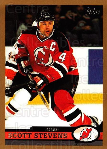 1999-00 Topps #167 Scott Stevens<br/>8 In Stock - $1.00 each - <a href=https://centericecollectibles.foxycart.com/cart?name=1999-00%20Topps%20%23167%20Scott%20Stevens...&quantity_max=8&price=$1.00&code=192289 class=foxycart> Buy it now! </a>