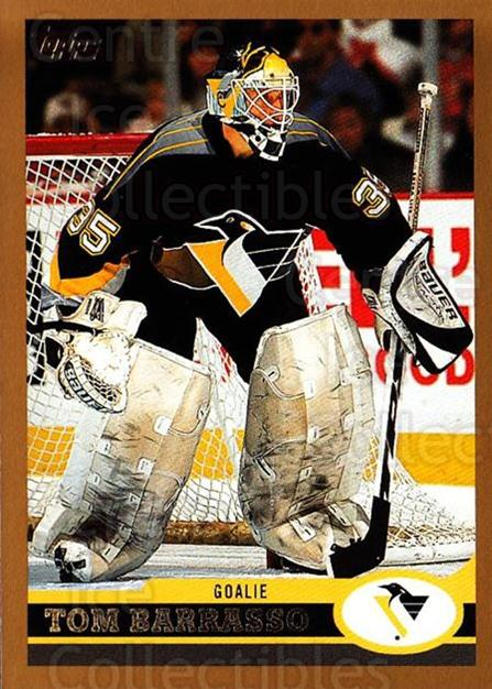 1999-00 Topps #169 Tom Barrasso<br/>1 In Stock - $1.00 each - <a href=https://centericecollectibles.foxycart.com/cart?name=1999-00%20Topps%20%23169%20Tom%20Barrasso...&quantity_max=1&price=$1.00&code=192291 class=foxycart> Buy it now! </a>