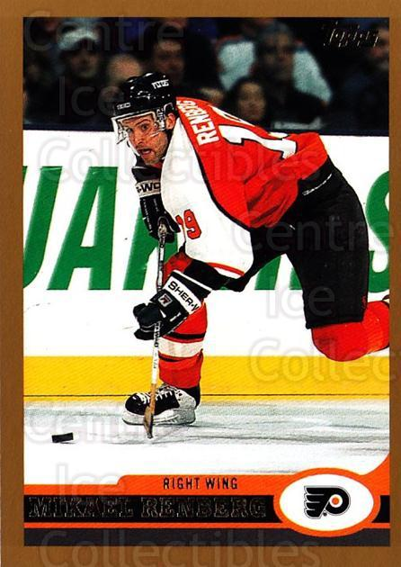 1999-00 Topps #184 Mikael Renberg<br/>4 In Stock - $1.00 each - <a href=https://centericecollectibles.foxycart.com/cart?name=1999-00%20Topps%20%23184%20Mikael%20Renberg...&quantity_max=4&price=$1.00&code=192308 class=foxycart> Buy it now! </a>