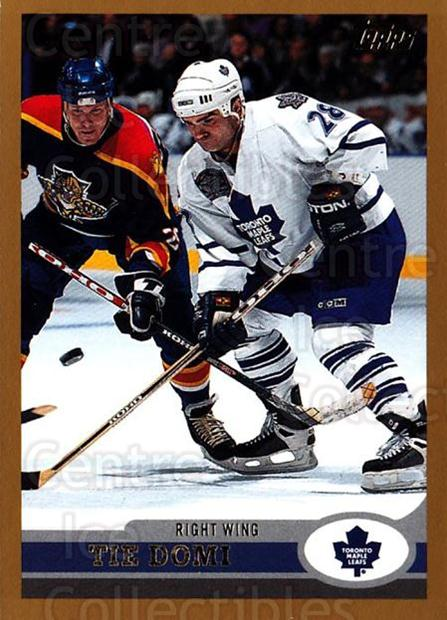 1999-00 Topps #192 Tie Domi<br/>3 In Stock - $1.00 each - <a href=https://centericecollectibles.foxycart.com/cart?name=1999-00%20Topps%20%23192%20Tie%20Domi...&quantity_max=3&price=$1.00&code=192317 class=foxycart> Buy it now! </a>