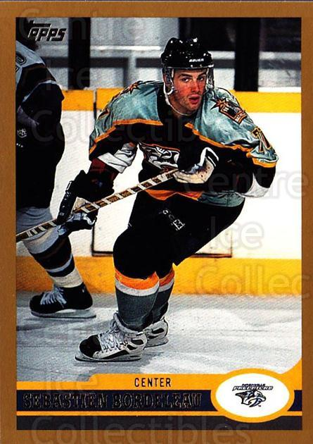 1999-00 Topps #204 Sebastien Bordeleau<br/>3 In Stock - $1.00 each - <a href=https://centericecollectibles.foxycart.com/cart?name=1999-00%20Topps%20%23204%20Sebastien%20Borde...&quantity_max=3&price=$1.00&code=192331 class=foxycart> Buy it now! </a>