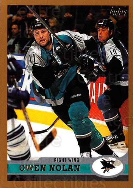 1999-00 Topps #206 Owen Nolan<br/>2 In Stock - $1.00 each - <a href=https://centericecollectibles.foxycart.com/cart?name=1999-00%20Topps%20%23206%20Owen%20Nolan...&quantity_max=2&price=$1.00&code=192333 class=foxycart> Buy it now! </a>