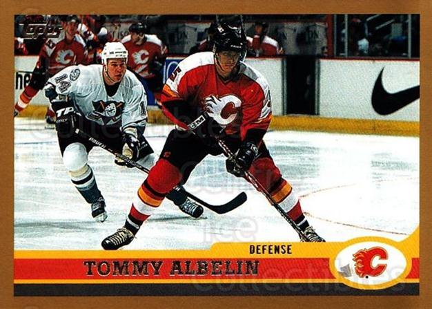 1999-00 Topps #217 Tommy Albelin<br/>11 In Stock - $1.00 each - <a href=https://centericecollectibles.foxycart.com/cart?name=1999-00%20Topps%20%23217%20Tommy%20Albelin...&quantity_max=11&price=$1.00&code=192345 class=foxycart> Buy it now! </a>