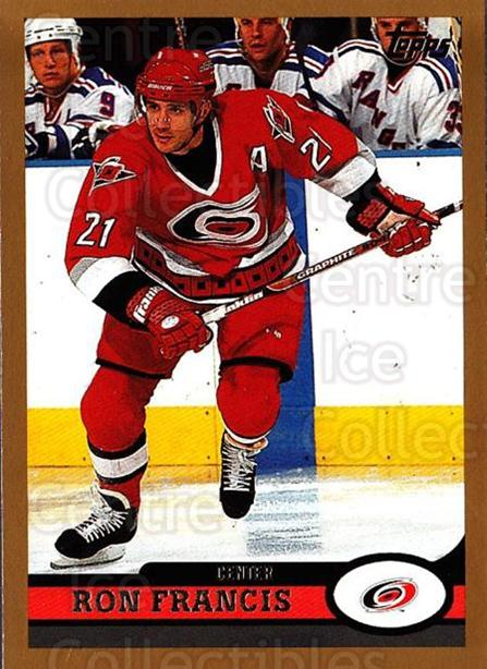 1999-00 Topps #23 Ron Francis<br/>5 In Stock - $1.00 each - <a href=https://centericecollectibles.foxycart.com/cart?name=1999-00%20Topps%20%2323%20Ron%20Francis...&quantity_max=5&price=$1.00&code=192359 class=foxycart> Buy it now! </a>