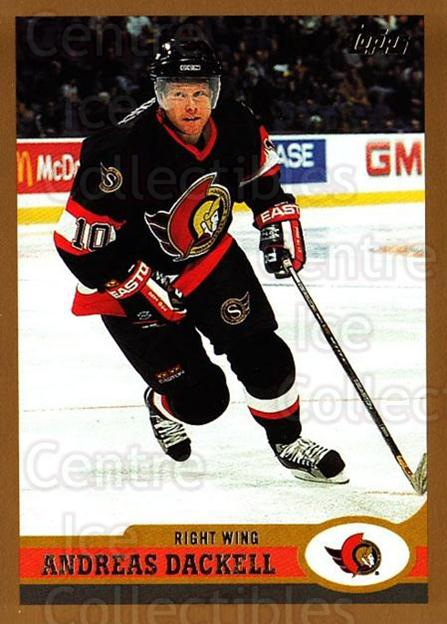1999-00 Topps #245 Andreas Dackell<br/>2 In Stock - $1.00 each - <a href=https://centericecollectibles.foxycart.com/cart?name=1999-00%20Topps%20%23245%20Andreas%20Dackell...&quantity_max=2&price=$1.00&code=192376 class=foxycart> Buy it now! </a>