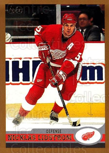 1999-00 Topps #25 Nicklas Lidstrom<br/>1 In Stock - $1.00 each - <a href=https://centericecollectibles.foxycart.com/cart?name=1999-00%20Topps%20%2325%20Nicklas%20Lidstro...&quantity_max=1&price=$1.00&code=192381 class=foxycart> Buy it now! </a>