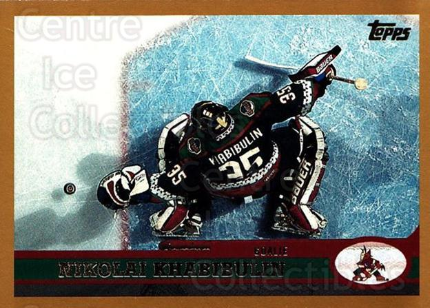 1999-00 Topps #47 Nikolai Khabibulin<br/>11 In Stock - $1.00 each - <a href=https://centericecollectibles.foxycart.com/cart?name=1999-00%20Topps%20%2347%20Nikolai%20Khabibu...&quantity_max=11&price=$1.00&code=192455 class=foxycart> Buy it now! </a>