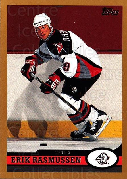 1999-00 Topps #64 Erik Rasmussen<br/>5 In Stock - $1.00 each - <a href=https://centericecollectibles.foxycart.com/cart?name=1999-00%20Topps%20%2364%20Erik%20Rasmussen...&quantity_max=5&price=$1.00&code=192474 class=foxycart> Buy it now! </a>