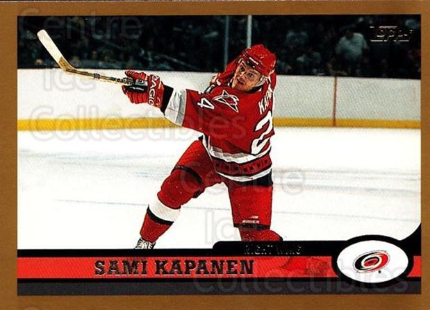 1999-00 Topps #69 Sami Kapanen<br/>5 In Stock - $1.00 each - <a href=https://centericecollectibles.foxycart.com/cart?name=1999-00%20Topps%20%2369%20Sami%20Kapanen...&quantity_max=5&price=$1.00&code=192479 class=foxycart> Buy it now! </a>