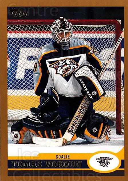 1999-00 Topps #72 Tomas Vokoun<br/>4 In Stock - $1.00 each - <a href=https://centericecollectibles.foxycart.com/cart?name=1999-00%20Topps%20%2372%20Tomas%20Vokoun...&quantity_max=4&price=$1.00&code=192483 class=foxycart> Buy it now! </a>