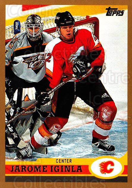 1999-00 Topps #74 Jarome Iginla<br/>10 In Stock - $1.00 each - <a href=https://centericecollectibles.foxycart.com/cart?name=1999-00%20Topps%20%2374%20Jarome%20Iginla...&quantity_max=10&price=$1.00&code=192485 class=foxycart> Buy it now! </a>