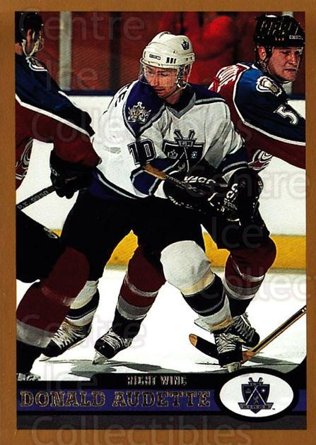 1999-00 Topps #89 Donald Audette<br/>5 In Stock - $1.00 each - <a href=https://centericecollectibles.foxycart.com/cart?name=1999-00%20Topps%20%2389%20Donald%20Audette...&quantity_max=5&price=$1.00&code=192501 class=foxycart> Buy it now! </a>
