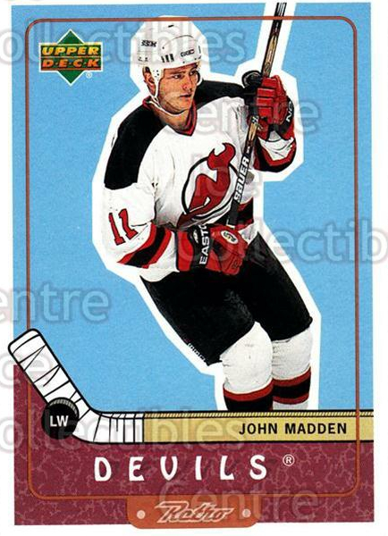1999-00 Upper Deck Retro #47 John Madden<br/>7 In Stock - $1.00 each - <a href=https://centericecollectibles.foxycart.com/cart?name=1999-00%20Upper%20Deck%20Retro%20%2347%20John%20Madden...&quantity_max=7&price=$1.00&code=192874 class=foxycart> Buy it now! </a>