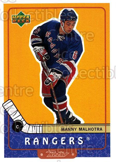 1999-00 Upper Deck Retro #50 Manny Malhotra<br/>6 In Stock - $1.00 each - <a href=https://centericecollectibles.foxycart.com/cart?name=1999-00%20Upper%20Deck%20Retro%20%2350%20Manny%20Malhotra...&quantity_max=6&price=$1.00&code=192877 class=foxycart> Buy it now! </a>