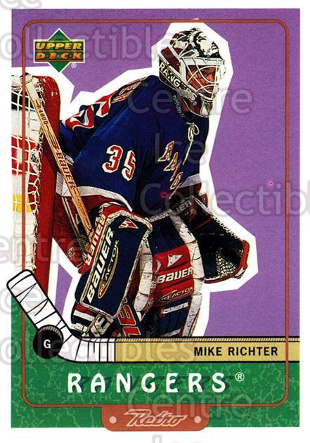 1999-00 Upper Deck Retro #52 Mike Richter<br/>6 In Stock - $1.00 each - <a href=https://centericecollectibles.foxycart.com/cart?name=1999-00%20Upper%20Deck%20Retro%20%2352%20Mike%20Richter...&quantity_max=6&price=$1.00&code=192879 class=foxycart> Buy it now! </a>