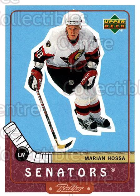 1999-00 Upper Deck Retro #55 Marian Hossa<br/>7 In Stock - $1.00 each - <a href=https://centericecollectibles.foxycart.com/cart?name=1999-00%20Upper%20Deck%20Retro%20%2355%20Marian%20Hossa...&quantity_max=7&price=$1.00&code=192882 class=foxycart> Buy it now! </a>