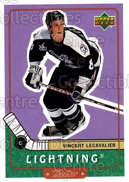 1999-00 Upper Deck Retro #72 Vincent Lecavalier<br/>7 In Stock - $1.00 each - <a href=https://centericecollectibles.foxycart.com/cart?name=1999-00%20Upper%20Deck%20Retro%20%2372%20Vincent%20Lecaval...&quantity_max=7&price=$1.00&code=192900 class=foxycart> Buy it now! </a>