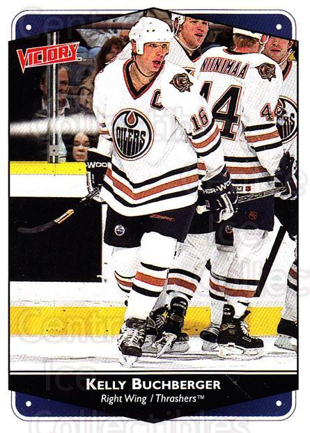 1999-00 UD Victory #14 Kelly Buchberger<br/>4 In Stock - $1.00 each - <a href=https://centericecollectibles.foxycart.com/cart?name=1999-00%20UD%20Victory%20%2314%20Kelly%20Buchberge...&quantity_max=4&price=$1.00&code=193013 class=foxycart> Buy it now! </a>