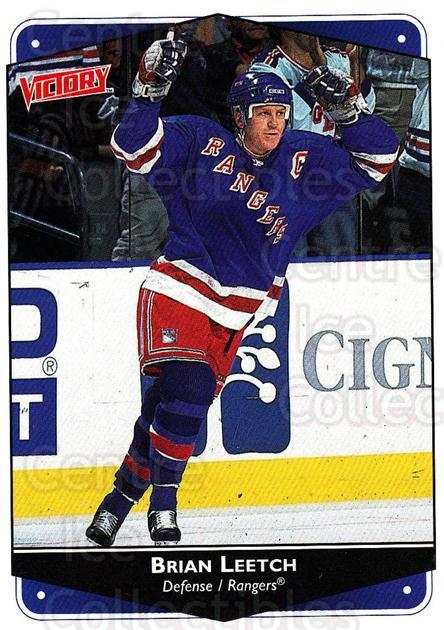 1999-00 UD Victory #192 Brian Leetch<br/>4 In Stock - $1.00 each - <a href=https://centericecollectibles.foxycart.com/cart?name=1999-00%20UD%20Victory%20%23192%20Brian%20Leetch...&quantity_max=4&price=$1.00&code=193070 class=foxycart> Buy it now! </a>