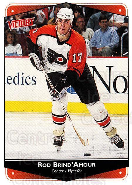 1999-00 UD Victory #214 Rod Brind'Amour<br/>4 In Stock - $1.00 each - <a href=https://centericecollectibles.foxycart.com/cart?name=1999-00%20UD%20Victory%20%23214%20Rod%20Brind'Amour...&quantity_max=4&price=$1.00&code=193095 class=foxycart> Buy it now! </a>