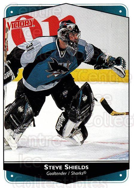 1999-00 UD Victory #256 Steve Shields<br/>4 In Stock - $1.00 each - <a href=https://centericecollectibles.foxycart.com/cart?name=1999-00%20UD%20Victory%20%23256%20Steve%20Shields...&quantity_max=4&price=$1.00&code=193140 class=foxycart> Buy it now! </a>