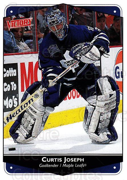 1999-00 UD Victory #284 Curtis Joseph<br/>3 In Stock - $2.00 each - <a href=https://centericecollectibles.foxycart.com/cart?name=1999-00%20UD%20Victory%20%23284%20Curtis%20Joseph...&quantity_max=3&price=$2.00&code=193170 class=foxycart> Buy it now! </a>
