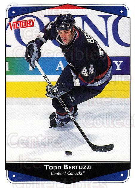 1999-00 UD Victory #301 Todd Bertuzzi<br/>3 In Stock - $1.00 each - <a href=https://centericecollectibles.foxycart.com/cart?name=1999-00%20UD%20Victory%20%23301%20Todd%20Bertuzzi...&quantity_max=3&price=$1.00&code=193190 class=foxycart> Buy it now! </a>