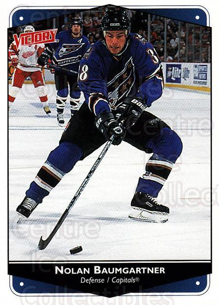 1999-00 UD Victory #313 Nolan Baumgartner<br/>4 In Stock - $1.00 each - <a href=https://centericecollectibles.foxycart.com/cart?name=1999-00%20UD%20Victory%20%23313%20Nolan%20Baumgartn...&quantity_max=4&price=$1.00&code=193203 class=foxycart> Buy it now! </a>