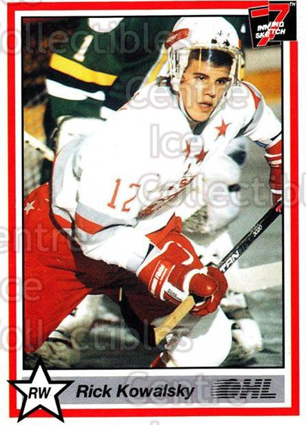 1990-91 7th Inning Sketch OHL #162 Rick Kowalsky<br/>9 In Stock - $1.00 each - <a href=https://centericecollectibles.foxycart.com/cart?name=1990-91%207th%20Inning%20Sketch%20OHL%20%23162%20Rick%20Kowalsky...&quantity_max=9&price=$1.00&code=19320 class=foxycart> Buy it now! </a>