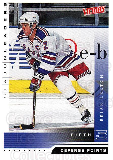 1999-00 UD Victory #345 Brian Leetch<br/>2 In Stock - $1.00 each - <a href=https://centericecollectibles.foxycart.com/cart?name=1999-00%20UD%20Victory%20%23345%20Brian%20Leetch...&quantity_max=2&price=$1.00&code=193237 class=foxycart> Buy it now! </a>