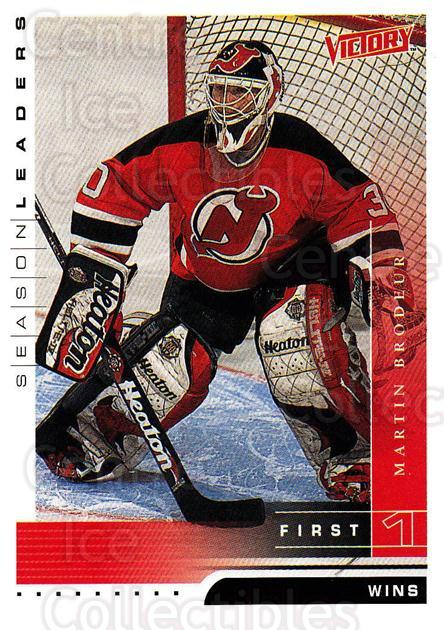 1999-00 UD Victory #346 Martin Brodeur<br/>4 In Stock - $2.00 each - <a href=https://centericecollectibles.foxycart.com/cart?name=1999-00%20UD%20Victory%20%23346%20Martin%20Brodeur...&quantity_max=4&price=$2.00&code=193238 class=foxycart> Buy it now! </a>