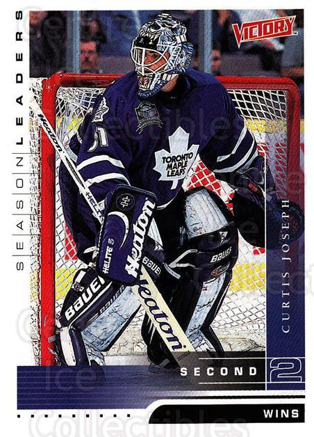 1999-00 UD Victory #348 Curtis Joseph<br/>1 In Stock - $2.00 each - <a href=https://centericecollectibles.foxycart.com/cart?name=1999-00%20UD%20Victory%20%23348%20Curtis%20Joseph...&quantity_max=1&price=$2.00&code=193240 class=foxycart> Buy it now! </a>