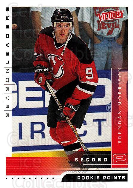 1999-00 UD Victory #352 Brendan Morrison<br/>3 In Stock - $1.00 each - <a href=https://centericecollectibles.foxycart.com/cart?name=1999-00%20UD%20Victory%20%23352%20Brendan%20Morriso...&quantity_max=3&price=$1.00&code=193245 class=foxycart> Buy it now! </a>