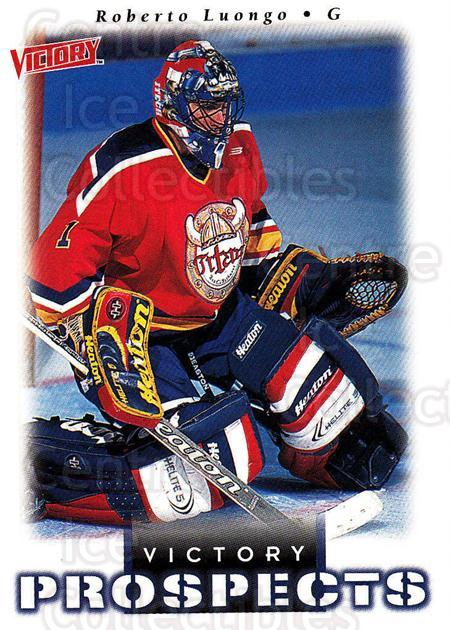1999-00 UD Victory #359 Roberto Luongo<br/>5 In Stock - $2.00 each - <a href=https://centericecollectibles.foxycart.com/cart?name=1999-00%20UD%20Victory%20%23359%20Roberto%20Luongo...&quantity_max=5&price=$2.00&code=193252 class=foxycart> Buy it now! </a>