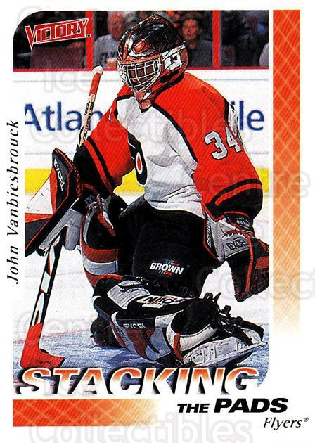 1999-00 UD Victory #385 John Vanbiesbrouck<br/>2 In Stock - $1.00 each - <a href=https://centericecollectibles.foxycart.com/cart?name=1999-00%20UD%20Victory%20%23385%20John%20Vanbiesbro...&quantity_max=2&price=$1.00&code=193280 class=foxycart> Buy it now! </a>