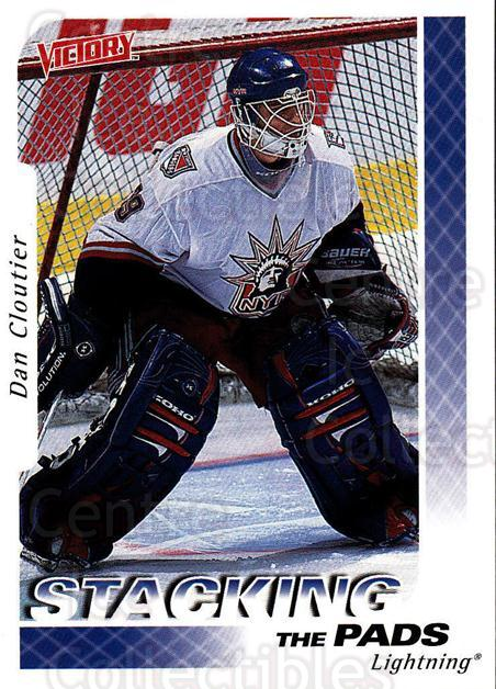1999-00 UD Victory #387 Dan Cloutier<br/>2 In Stock - $1.00 each - <a href=https://centericecollectibles.foxycart.com/cart?name=1999-00%20UD%20Victory%20%23387%20Dan%20Cloutier...&quantity_max=2&price=$1.00&code=193282 class=foxycart> Buy it now! </a>