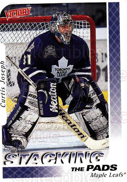 1999-00 UD Victory #389 Curtis Joseph<br/>2 In Stock - $2.00 each - <a href=https://centericecollectibles.foxycart.com/cart?name=1999-00%20UD%20Victory%20%23389%20Curtis%20Joseph...&quantity_max=2&price=$2.00&code=193284 class=foxycart> Buy it now! </a>