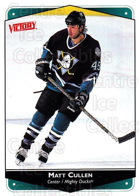 1999-00 UD Victory #4 Matt Cullen<br/>3 In Stock - $1.00 each - <a href=https://centericecollectibles.foxycart.com/cart?name=1999-00%20UD%20Victory%20%234%20Matt%20Cullen...&quantity_max=3&price=$1.00&code=193295 class=foxycart> Buy it now! </a>