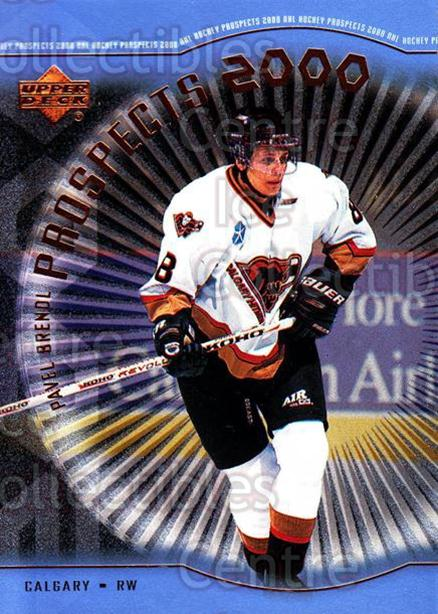 1999-00 Upper Deck #306 Pavel Brendl<br/>2 In Stock - $3.00 each - <a href=https://centericecollectibles.foxycart.com/cart?name=1999-00%20Upper%20Deck%20%23306%20Pavel%20Brendl...&price=$3.00&code=193468 class=foxycart> Buy it now! </a>