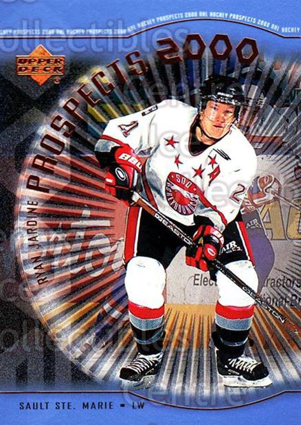 1999-00 Upper Deck #310 Ryan Jardine<br/>1 In Stock - $3.00 each - <a href=https://centericecollectibles.foxycart.com/cart?name=1999-00%20Upper%20Deck%20%23310%20Ryan%20Jardine...&price=$3.00&code=193471 class=foxycart> Buy it now! </a>