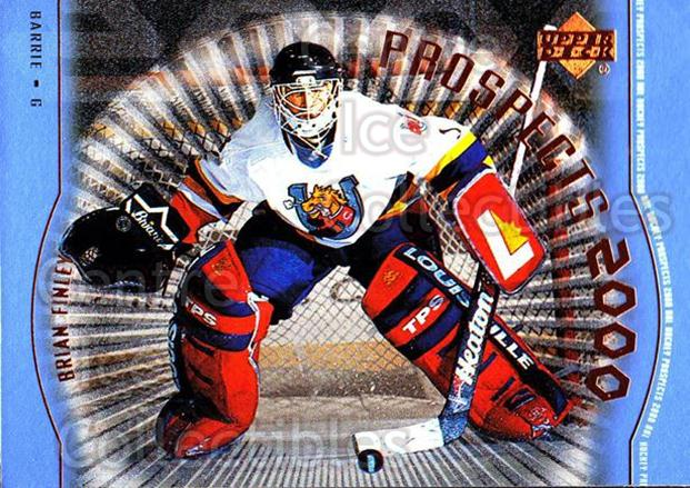 1999-00 Upper Deck #316 Brian Finley<br/>3 In Stock - $3.00 each - <a href=https://centericecollectibles.foxycart.com/cart?name=1999-00%20Upper%20Deck%20%23316%20Brian%20Finley...&price=$3.00&code=193476 class=foxycart> Buy it now! </a>