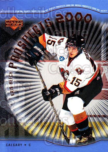 1999-00 Upper Deck #324 Kris Beech<br/>2 In Stock - $3.00 each - <a href=https://centericecollectibles.foxycart.com/cart?name=1999-00%20Upper%20Deck%20%23324%20Kris%20Beech...&price=$3.00&code=193483 class=foxycart> Buy it now! </a>
