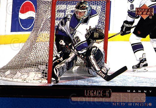 1999-00 Upper Deck #66 Manny Legace<br/>5 In Stock - $1.00 each - <a href=https://centericecollectibles.foxycart.com/cart?name=1999-00%20Upper%20Deck%20%2366%20Manny%20Legace...&quantity_max=5&price=$1.00&code=193529 class=foxycart> Buy it now! </a>