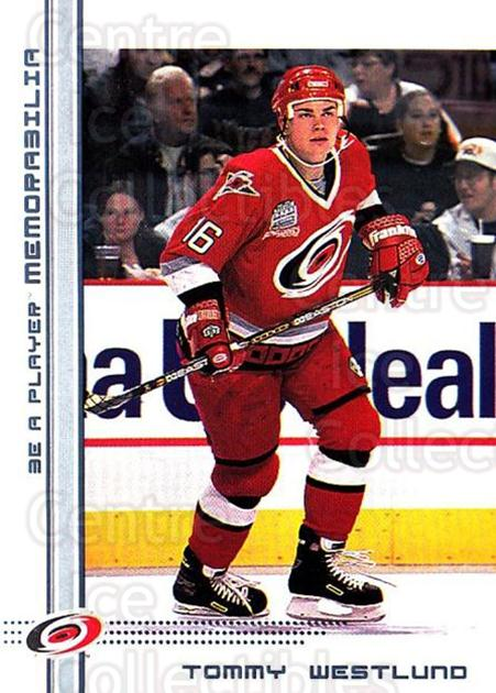 2000-01 BAP Memorabilia #371 Tommy Westlund<br/>10 In Stock - $1.00 each - <a href=https://centericecollectibles.foxycart.com/cart?name=2000-01%20BAP%20Memorabilia%20%23371%20Tommy%20Westlund...&quantity_max=10&price=$1.00&code=193694 class=foxycart> Buy it now! </a>