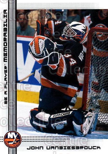 2000-01 BAP Memorabilia #413 John Vanbiesbrouck<br/>14 In Stock - $1.00 each - <a href=https://centericecollectibles.foxycart.com/cart?name=2000-01%20BAP%20Memorabilia%20%23413%20John%20Vanbiesbro...&quantity_max=14&price=$1.00&code=193733 class=foxycart> Buy it now! </a>