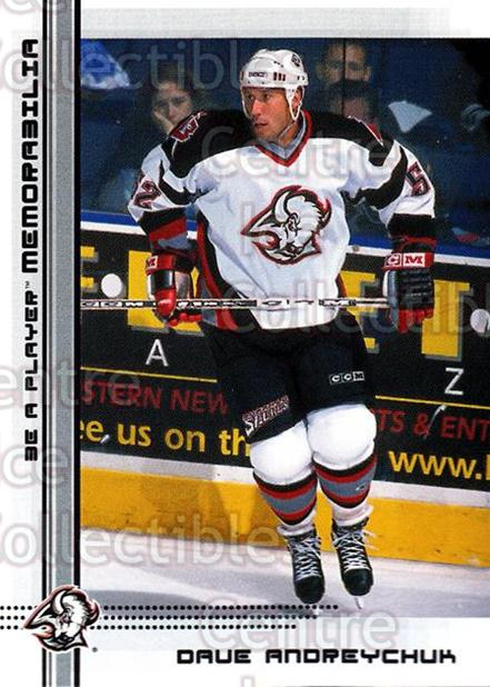 2000-01 BAP Memorabilia #418 Dave Andreychuk<br/>14 In Stock - $1.00 each - <a href=https://centericecollectibles.foxycart.com/cart?name=2000-01%20BAP%20Memorabilia%20%23418%20Dave%20Andreychuk...&quantity_max=14&price=$1.00&code=193737 class=foxycart> Buy it now! </a>