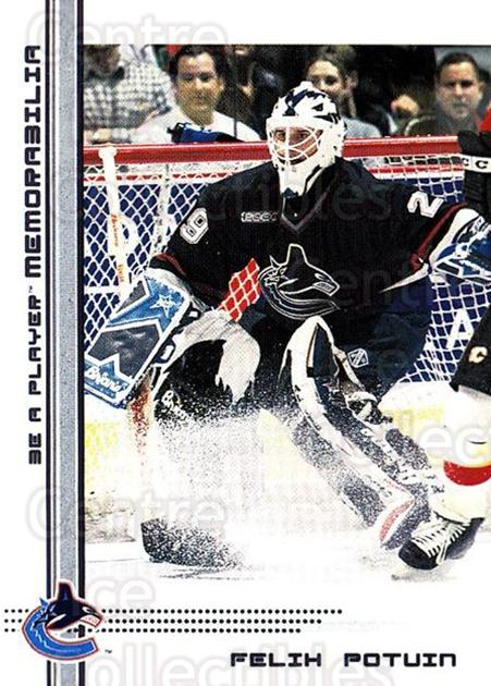 2000-01 BAP Memorabilia #45 Felix Potvin<br/>4 In Stock - $1.00 each - <a href=https://centericecollectibles.foxycart.com/cart?name=2000-01%20BAP%20Memorabilia%20%2345%20Felix%20Potvin...&quantity_max=4&price=$1.00&code=193768 class=foxycart> Buy it now! </a>