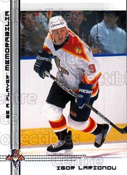 2000-01 BAP Memorabilia #490 Igor Larionov<br/>14 In Stock - $1.00 each - <a href=https://centericecollectibles.foxycart.com/cart?name=2000-01%20BAP%20Memorabilia%20%23490%20Igor%20Larionov...&quantity_max=14&price=$1.00&code=193809 class=foxycart> Buy it now! </a>