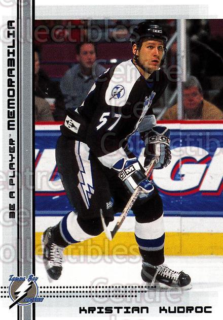2000-01 BAP Memorabilia #515 Kristian Kudroc<br/>14 In Stock - $1.00 each - <a href=https://centericecollectibles.foxycart.com/cart?name=2000-01%20BAP%20Memorabilia%20%23515%20Kristian%20Kudroc...&quantity_max=14&price=$1.00&code=193832 class=foxycart> Buy it now! </a>